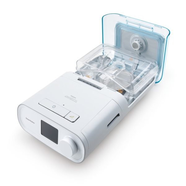 Philips Respironics Dreamstation auto cpap sleep apnea machine with humidifer open
